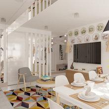 Фотография: Кухня и столовая в стиле Лофт, Квартира, BoConcept, Дома и квартиры, Проект недели – фото на InMyRoom.ru