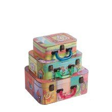 Декоративный чемодан с акриловыми ручками Arcobaleno Media