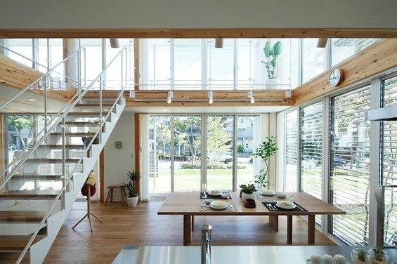 Фотография: Кухня и столовая в стиле Лофт, Минимализм, Дом, Дома и квартиры, Япония – фото на InMyRoom.ru