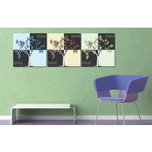 Модульная картина от дизайнера: Цветные деревья