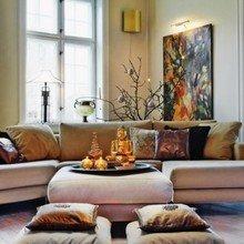 Фотография: Гостиная в стиле Восточный, Декор интерьера, DIY, Праздник, Новый Год – фото на InMyRoom.ru