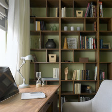 Фотография: Кабинет в стиле Классический, Современный, Квартира, Проект недели, Надя Зотова – фото на InMyRoom.ru