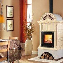 Фотография: Кухня и столовая в стиле , Декор интерьера, Дом, Декор дома, Камин – фото на InMyRoom.ru