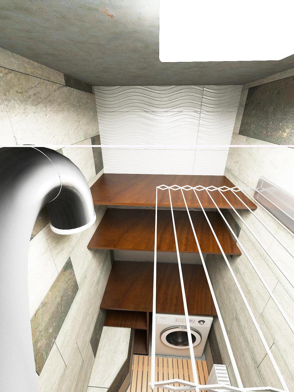 Фотография: Ванная в стиле Лофт, Декор интерьера, Квартира, Globo, Massive, Дома и квартиры, IKEA, Проект недели, Ideal Lux – фото на InMyRoom.ru