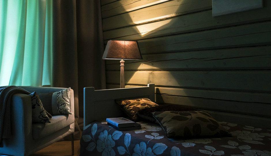 Фотография: Спальня в стиле , Дом, Дома и квартиры, Проект недели, Дача, dom-iz-brusa – фото на InMyRoom.ru