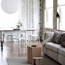 Фотография: Гостиная в стиле Скандинавский, Лофт, Декор интерьера, Декор дома, Стены – фото на InMyRoom.ru