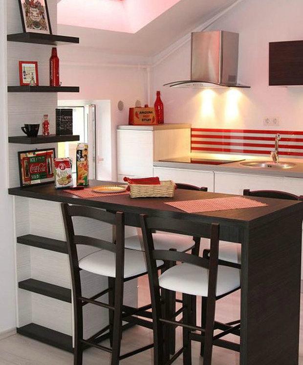 Фотография:  в стиле , Кухня и столовая, Интерьер комнат, Обеденная зона – фото на InMyRoom.ru