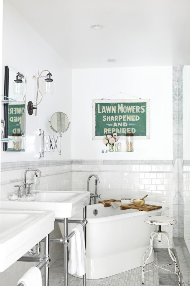 Фотография: Ванная в стиле Лофт, Декор интерьера, DIY, Интерьер комнат, Переделка – фото на InMyRoom.ru