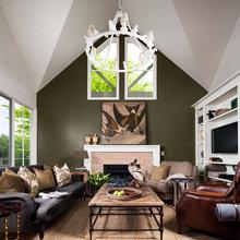 Фотография: Гостиная в стиле Кантри, Дом, Австралия, Дома и квартиры – фото на InMyRoom.ru