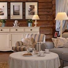Фотография: Гостиная в стиле Кантри, Классический, Современный, Квартира, Дома и квартиры – фото на InMyRoom.ru