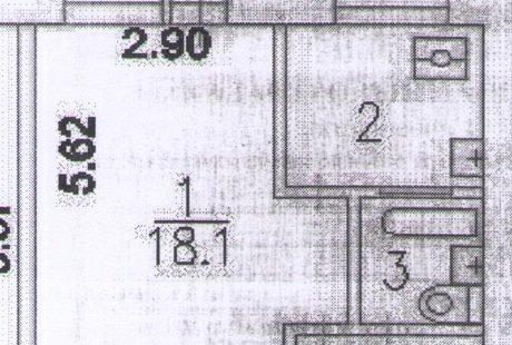 Оптимальная планировка для 30м2