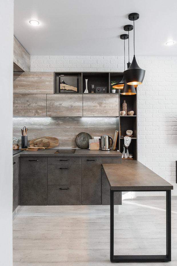 Фото из портфолио Кухня Лофт жк Гринвуд – фотографии дизайна интерьеров на INMYROOM
