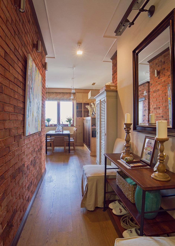 Фотография: Прихожая в стиле Прованс и Кантри, Лофт, Квартира, Дома и квартиры – фото на InMyRoom.ru