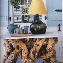Фотография: Мебель и свет в стиле Кантри, Эко, Декор интерьера, Декор дома, Светильники, Зеркала – фото на InMyRoom.ru