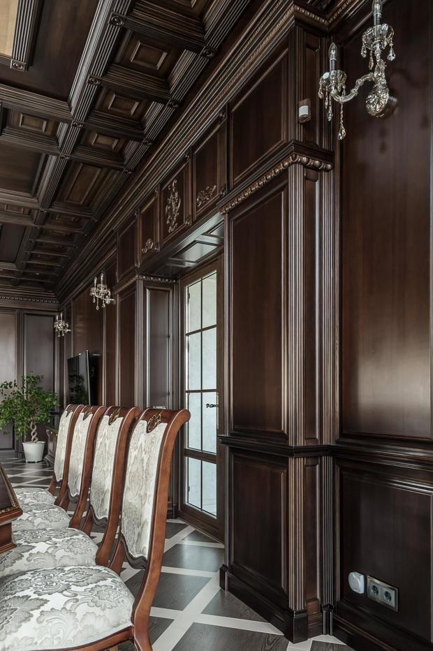 Фото из портфолио Столовая в классическом стиле. Фото. – фотографии дизайна интерьеров на INMYROOM