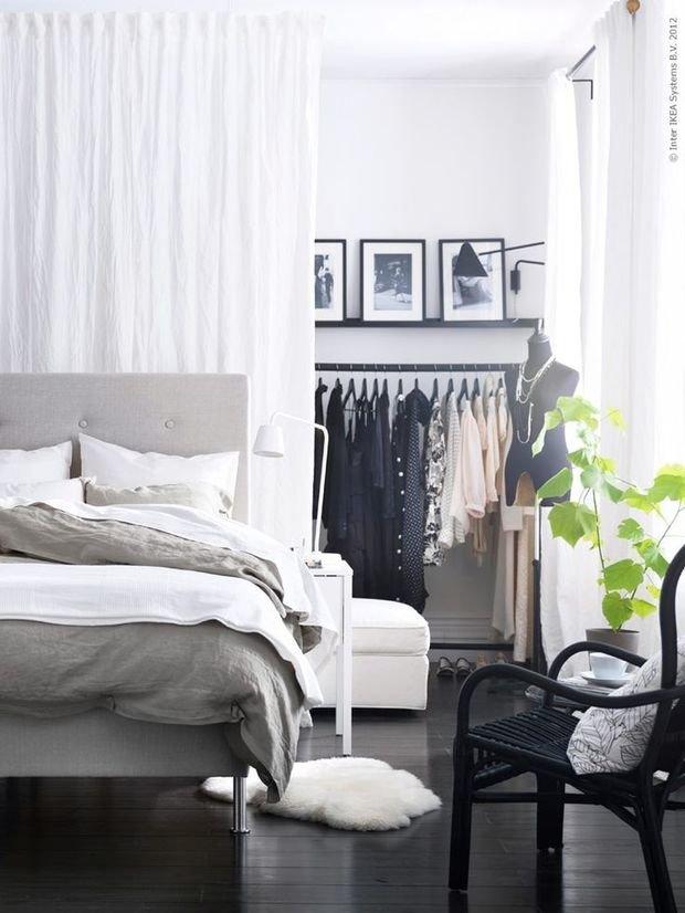 Фотография: Спальня в стиле Современный, Хранение, Стиль жизни, Советы – фото на InMyRoom.ru