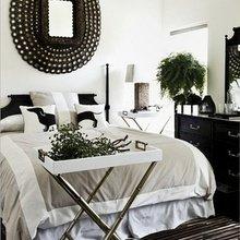 Фотография: Спальня в стиле Современный, Классический, Декор интерьера, Дизайн интерьера, Цвет в интерьере – фото на InMyRoom.ru
