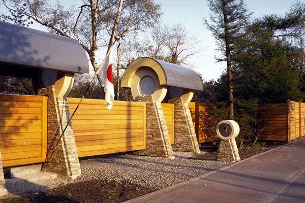 Фотография: Архитектура в стиле Современный, Эклектика, Декор интерьера, Дом, Дома и квартиры, Архитектурные объекты, Япония – фото на InMyRoom.ru