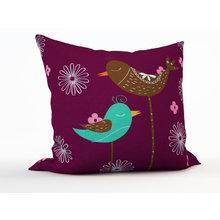 Декоративная подушка: Две птахи