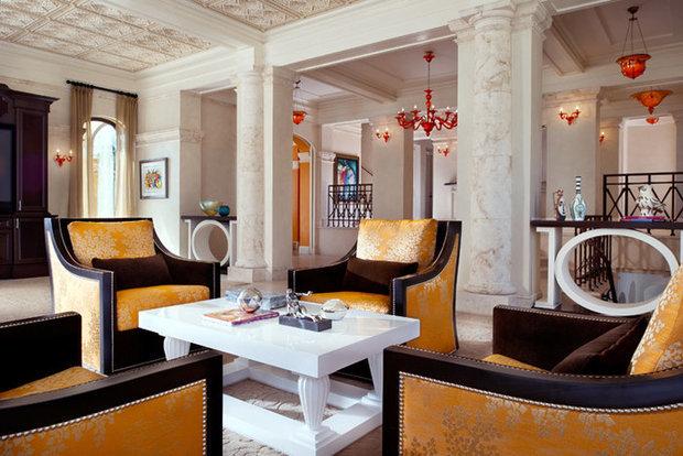 Фотография: Гостиная в стиле , Декор интерьера, Декор дома, Журнальный столик – фото на InMyRoom.ru
