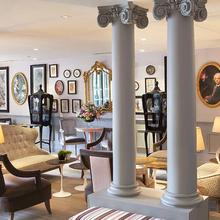 Фотография: Гостиная в стиле , Спальня, Франция, Дома и квартиры, Городские места, Отель – фото на InMyRoom.ru