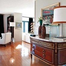 Фотография: Мебель и свет в стиле Кантри, Декор интерьера, Декор дома, Стол, Лампа, Лиссабон, Торшер – фото на InMyRoom.ru