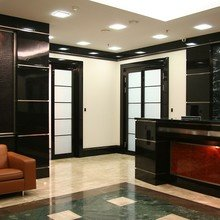 Фото из портфолио Офисные помещения в Балгуч-Плаза – фотографии дизайна интерьеров на InMyRoom.ru