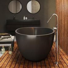 Фото из портфолио Spoon 2 Black - отдельностоящая ванна – фотографии дизайна интерьеров на INMYROOM