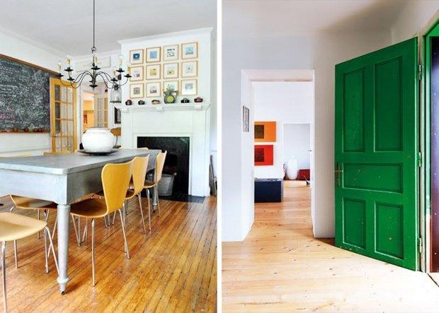 Фотография: Прочее в стиле , Декор интерьера, DIY, Дизайн интерьера, Цвет в интерьере, Двери – фото на InMyRoom.ru