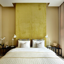 Фотография: Спальня в стиле Восточный, Квартира, BoConcept, Дома и квартиры, Проект недели – фото на InMyRoom.ru