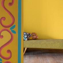 Фотография: Декор в стиле Кантри, Декор интерьера, Дизайн интерьера, Цвет в интерьере, Советы, Dulux, Оранжевый – фото на InMyRoom.ru