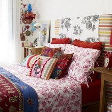 Фотография: Спальня в стиле Кантри, Квартира, Дома и квартиры, Перепланировка – фото на InMyRoom.ru