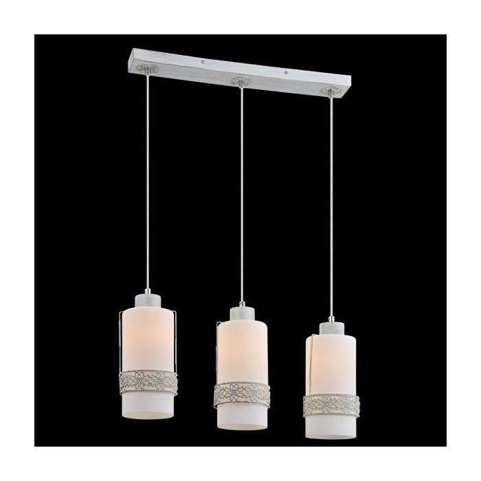 Подвесной светильник белый с золотом EUROSVET
