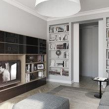 Фото из портфолио Спальня-гостиная – фотографии дизайна интерьеров на InMyRoom.ru