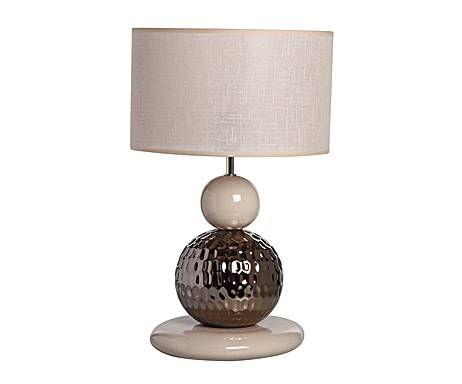 Купить Настольная лампа Sporvil с бежевым абажуром, inmyroom, Португалия
