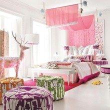 Фотография: Спальня в стиле Кантри, Декор интерьера, Дом, Интерьер комнат, Мебель и свет – фото на InMyRoom.ru