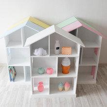 Кукольный дом Manchester (розовая крыша)