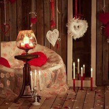 Фотография: Декор в стиле Кантри, Декор интерьера, DIY, Праздник, День святого Валентина – фото на InMyRoom.ru