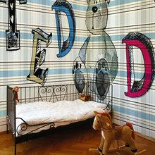 Фотография: Детская в стиле Современный, Декор интерьера, Декор дома, Обои, Стены – фото на InMyRoom.ru