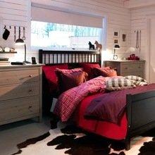 Фотография: Спальня в стиле Современный, Декор интерьера, Декор, Мебель и свет, Балдахин – фото на InMyRoom.ru