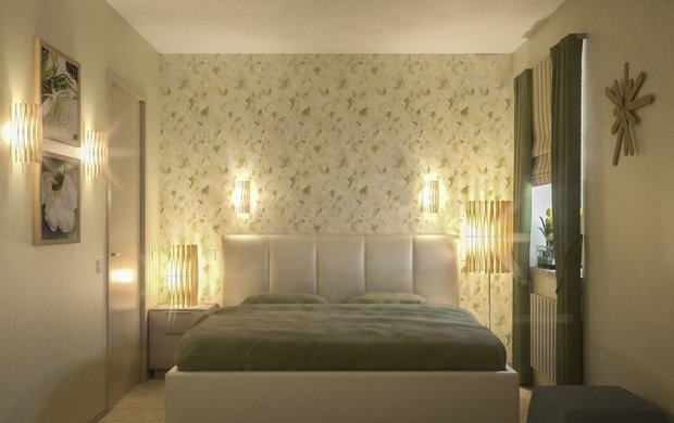 Фотография: Спальня в стиле Современный, Малогабаритная квартира, Дома и квартиры – фото на InMyRoom.ru