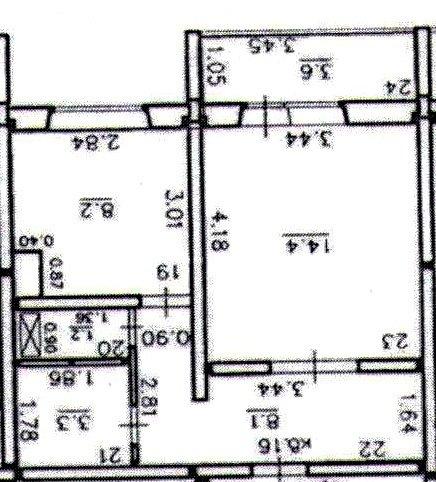Помогите с выбором дизайна для однушки 38 кв.м. для молодой пары!
