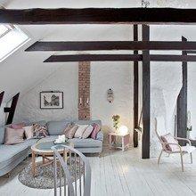 Фото из портфолио  Уникальный чердак в 2-х уровнях – фотографии дизайна интерьеров на INMYROOM
