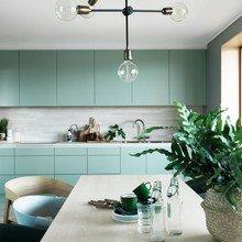 Фото из портфолио Оттенки и сочетание изумрудного (зелёного) цвета в интерьере – фотографии дизайна интерьеров на InMyRoom.ru