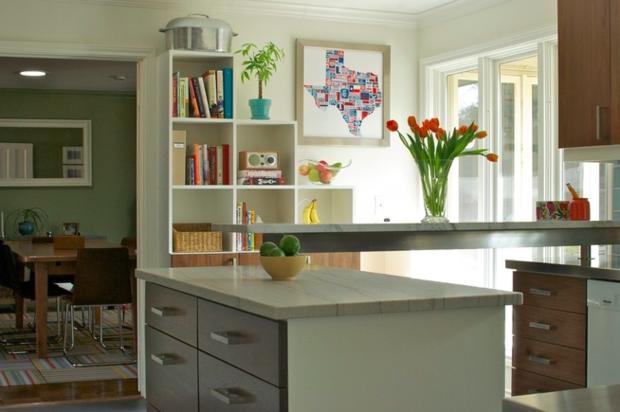 Фотография: Декор в стиле Современный, Кухня и столовая, Классический, Декор интерьера, Квартира, Хранение, Переделка – фото на InMyRoom.ru