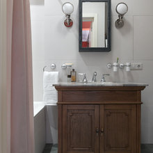 Фотография: Ванная в стиле Кантри, Квартира, Проект недели, Надя Зотова – фото на InMyRoom.ru