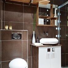 Фотография: Ванная в стиле Современный, Малогабаритная квартира, Квартира, Швеция, Дома и квартиры – фото на InMyRoom.ru