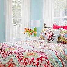 Фотография: Спальня в стиле Кантри, Эклектика, Квартира, Советы, Ремонт на практике – фото на InMyRoom.ru