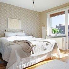 Фотография: Спальня в стиле Кантри, Скандинавский, Декор интерьера, Интерьер комнат, Цвет в интерьере, Белый – фото на InMyRoom.ru