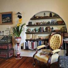 Фотография: Гостиная в стиле Кантри, Классический, Современный, Декор интерьера, Мебель и свет – фото на InMyRoom.ru